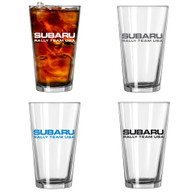 Subaru Rally Team USA Pint Glasses (Set of 4)