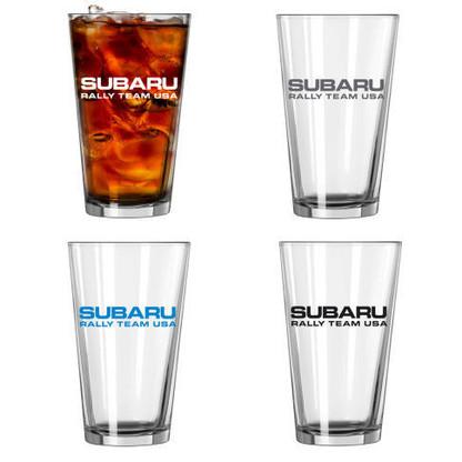 Subaru Rally Team USA Pint Glasses (Set of 4)