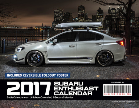 2017 SUBARU Enthusiast Calendar - Cover