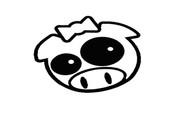 Angry JDM Rally Pig Girl - Black