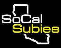 SoCalSubies Side Window Decal (Black/White/Gold)