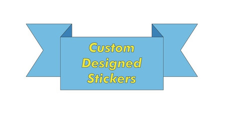 Custom Designed Stickers