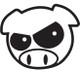 Subaru Enthusiast Angry Rally Pig (Black)