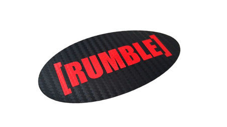 [RUMBLE] Carbon Fiber emblem overlay