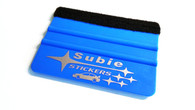 Subie Stickers Squeegee, Front