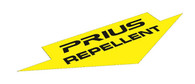 Prius Repellent Sticker Decal - Yellow & Black