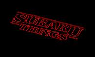 Subie Stranger Things