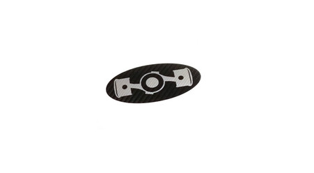 Boxer Engine Steering Wheel Emblem Overlay (No border)