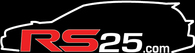 RS25 Wagon Logo Vinyl Sticker