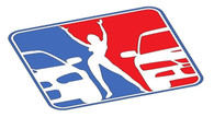 Subie Racing League Sticker Decal (Blue, White, Red)