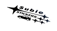 Subie Stickers Logo Decal