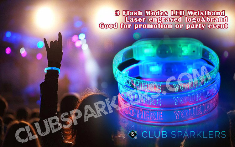 led wristbands personalized