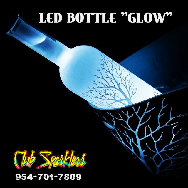 Led Glow Bottle Glorifier Clubsparklers