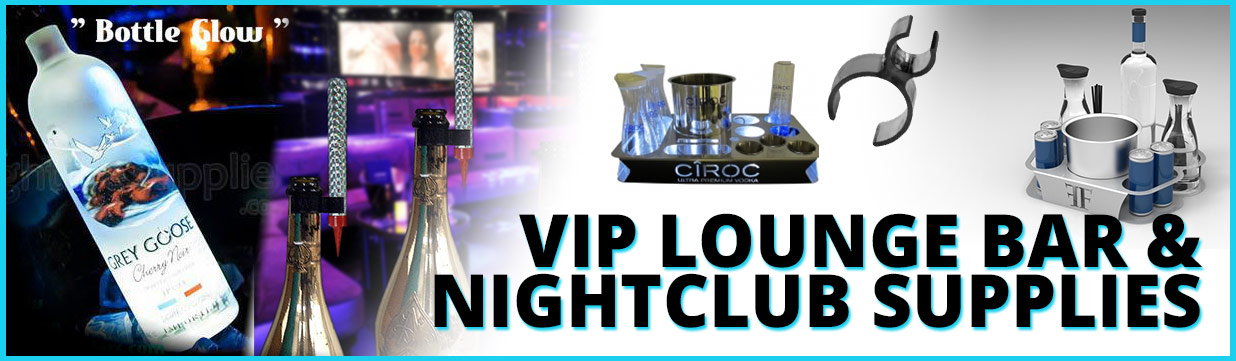 vip lounge bottle presenters clubsparklers