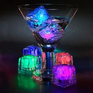 LED, water, activated, ice, glow, lights, bars, liquor, vases, wedding, rave