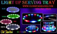 LED, serving, tray, bars, clubs, lounges, raves, alcohol, waiter, waitress,party tray,plastic tray,bar tray,trays,light up tray
