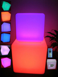 led cube, led furniture, led decoration, lighting furniture, nightclubs