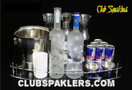 VIP, TRAY, SERVING, DELUX, NIGHTCLUB, BAR,serving tray, vip serving tray, vip service, bottle service, vip guest, custom, ice buckets, garnish bowls, carafes, bottle service serving tray, vip bottle service, serving, bottle