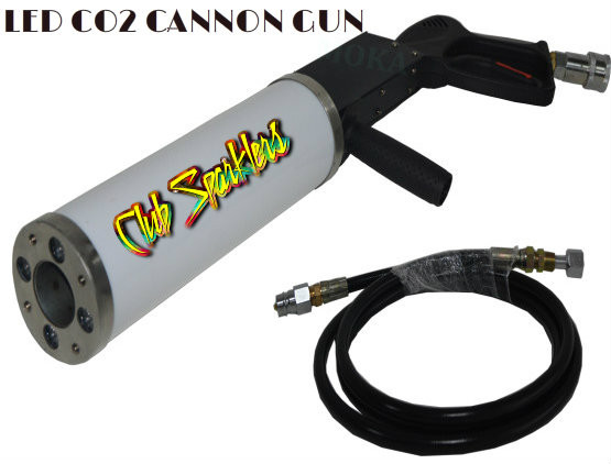LED CO2 PARTY CANNON
