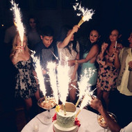 champagne bottle sparklers can be use for nightclub or in a birthday cake