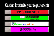 custom wristbands, printed wristbands tyvek wristbands, plastic wristband, night club, concerts, rave, events, special events, lounges, bars, security, control