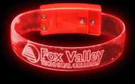 CUSTOM LED WRISTBAND XL  OPTICAL ENGRAVED