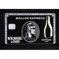 VIP BLACK CARD BOTTLE PRESENTER AMEX BOTTLE PRESENTER