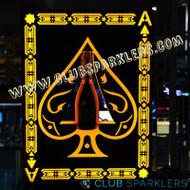 LED  BOTTLE PRESENTER ACE CARD
