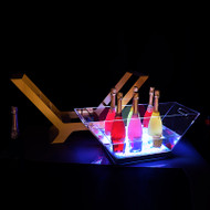 LED ICE BUCKET CHAMPAGNE EXA