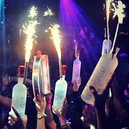 Champagne Bottle Sparklers Club Sparklers Birthday
