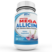 Mega Allicin 100% Patented Allicin Extract from Premium non-GMO Garlic