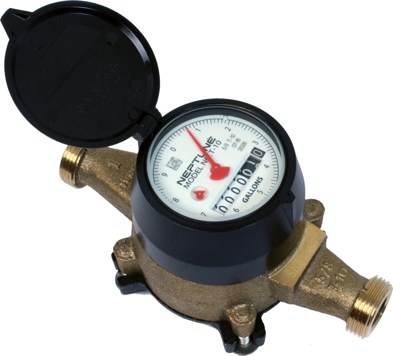 Neptune t10 direct read lead free water meters by for Schreibtisch 2 meter
