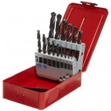 DRILLCO 15 PC LEFT HAND JOBBER DRILL BIT SET - 200LH15
