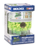 MOLDEX SPARK PLUG EAR PLUGS DISPENSER WITH 250 PLUGS 6644
