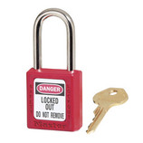 MASTER LOCK RED PADLOCK SAFETY LOCKOUT 410 SERIES 410RED