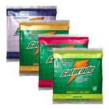 GATORADE  VARIETY PACK 2-1/2 GALLON INSTANT POWDER MIX LEMON-LIME, FRUIT PUNCH, RIPTIDE RUSH, ORANGE 03944