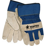 "MEMPHIS ""ARTIC JACK"" PREMIUM SPLIT PIGSKIN THERMOSOCK LINED GLOVE LARGE"