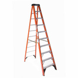 MICHIGAN 10' HEAVY DUTY Type 1A Fiberglass stepladder 3715-10