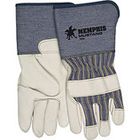 "MEMPHIS PREMIUM GRAIN COW FULL FEATURE GUNN PATTERN 4-1/2"" CUFF GLOVE X-LARGE1936XL"
