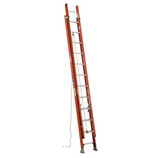 MICHIGAN 24' Type 1A fiberglass extension ladder 3861-24
