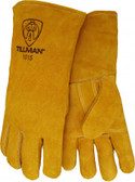 TILLMAN BOURBON BROWN WELDERS GLOVE COTTON FOAM LINED 1015B