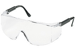 0b01fd3d81c CREWS TACOMA BLACK FRAME CLEAR LENS SAFETY GLASSES TC110. Price   1.22.  Image 1