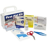 PAC-KIT FIRST AID SAFETY KIT 10 PERSON POLY CASE 6410