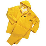 ANCHOR 3 PIECE RAINSUIT PVC/POLYESTER LARGE 9000-L