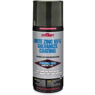 Aervoe 7008 galvanize coating is a restorative coating fortified with zinc for preventing rust and corrosion on ferrous metal surfaces with one coat application.