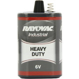 Rayovac 6-Volt Heavy Duty Lantern Battery  Rayovac offers a complete line of lantern batteries for long-lasting life in all of your applications. A staple of many industrial applications, Rayovac lantern batteries have a long standing reputation for durability. If you want something you can count on during severe weather, look to Rayovac lantern batteries for long lasting power and great value.