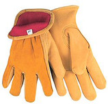 MEMPHIS DEERSKIN GRAIN LINED DRIVERS GLOVE SPLIT BACK KEYSTONE THUMB X-LARGE 3555XL
