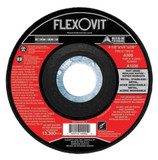 Flexovit A0390 Grinding Wheels are USA Made for Angle Grinders. These Discs are for General Purpose Ferrous Metals including Angle Iron, Bar Stock, Carbon Steel, Channel Iron, High Tensile Steel, and Iron Pipe. Grinding Wheels will also grind Stainless Steel, Aluminum, Iron, and Concrete. Flexovit Type 27 Grinding Wheels are reinforced with three full diameters of high tensile fiberglass. These discs are designed to prevent premature wheel edge wear.