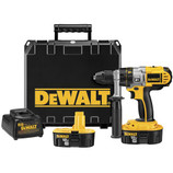 Handle everything from wood and steel to masonry and concrete with the DEWALT DCD950KX 18-Volt 1/2-Inch Cordless XRP Hammerdrill/Drill/Driver Kit. With its high-efficiency motor, this DEWALT tool makes quick work of drilling and fastening tasks at hand. Enjoy the patented, three-speed transmission and comfortable grip for job-specific performance and less user fatigue.