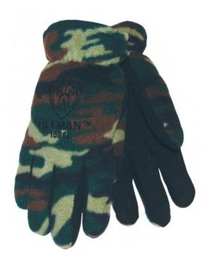 Tillman 1586 Camo Polar Fleece Winter Gloves - Large  Warm up with Tillman Winter Gloves! These lightweight and strong Tillman 1586 Welding Gloves are great for winter welding applications. Count on these dependable welding gloves for both protection and warmth during extreme winter weather. Made of polar fleece, these Tillman gloves are soft and warm. A Coldblock poly/cotton fabric lining provides extra warmth while keeping away sweat.